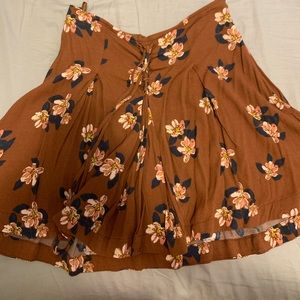 Free people floral skirt size 4